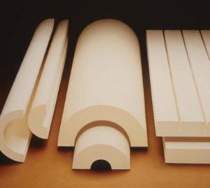 Calcium silicate (CalSil) pipe insulation