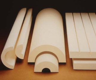 Calcium silicate (CalSil) pipe insulation
