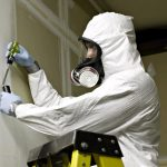 Abatement suit and respirator