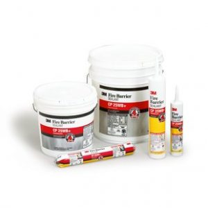3M Fire Barrier Sealant CP 25WB+ product family