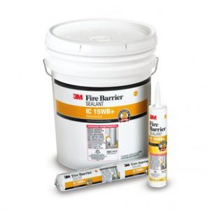 3M Fire Barrier Sealant IC 15WB+ product family