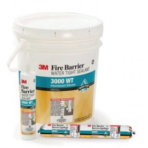 3M watertight Fire Barrier 3000 product family