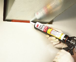 3M™ Fire Barrier Sealant CP 25WB+ HVAC Duct Application