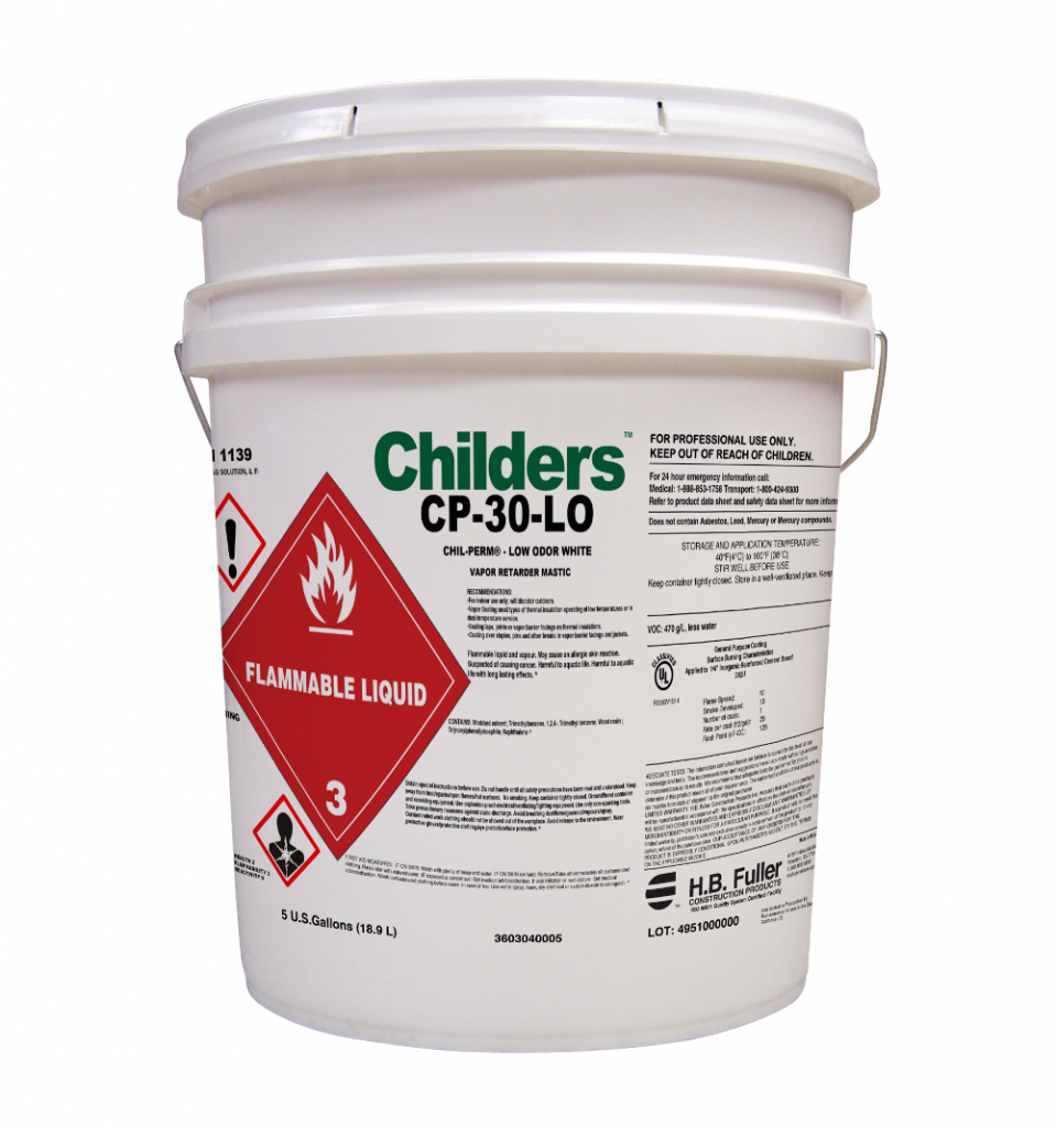 Childers Chil Perm Cp 30 Lo Low Odor Vapor Barrier Coating