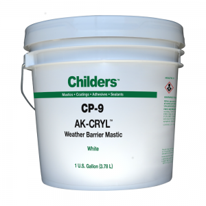 Childers CP-9 Ak-Cryl Breather Mastic Weather Barrier