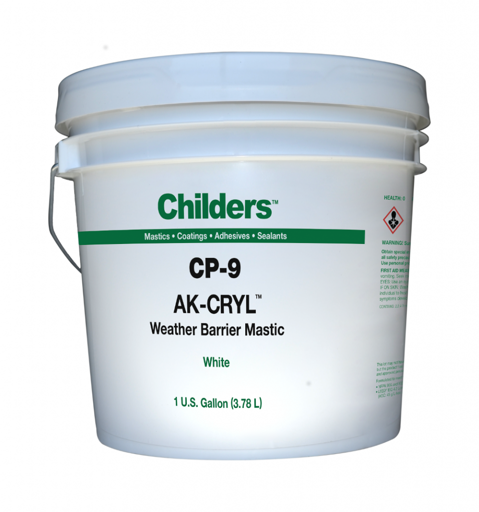 Childers Ak Cryl Cp 9 Weather Barrier Coating General