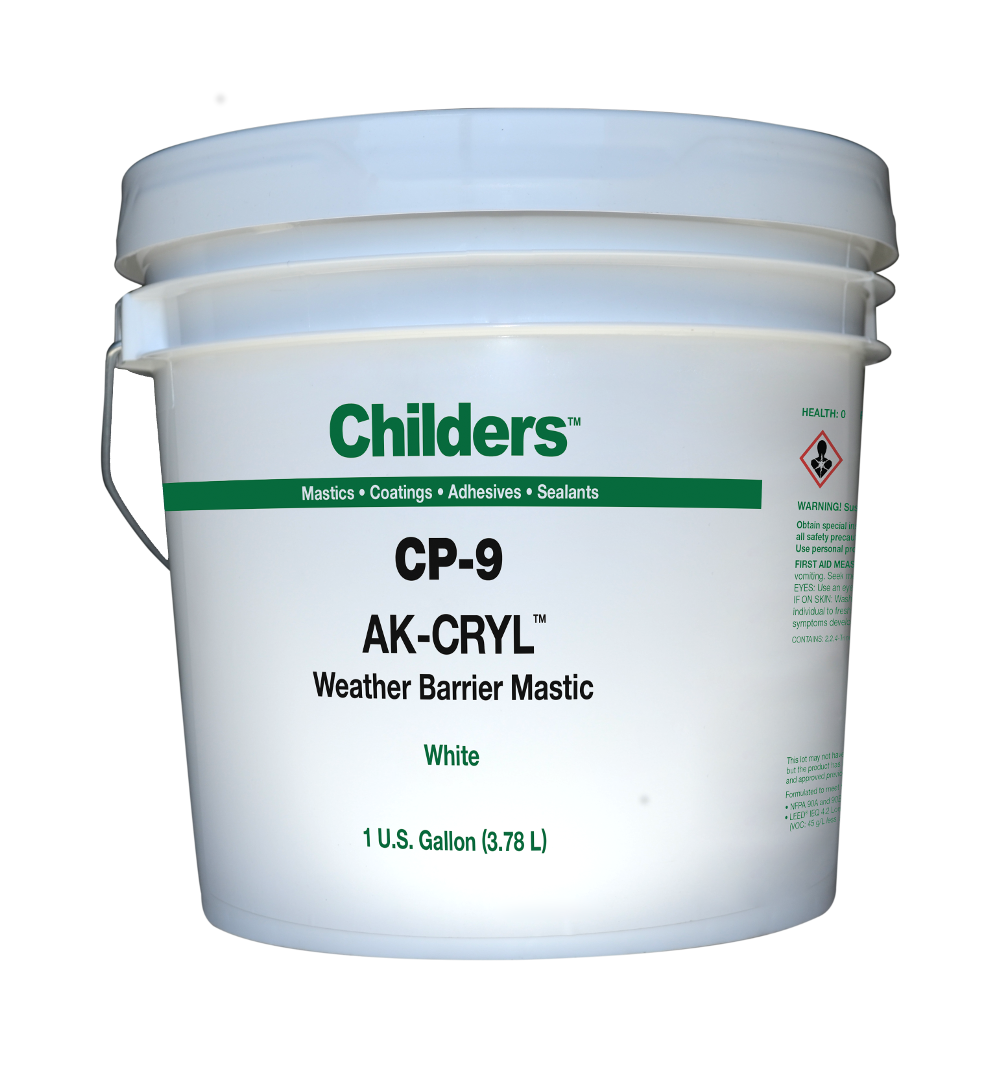 Childers AK-CRYL CP-9 Weather Barrier Coating - General