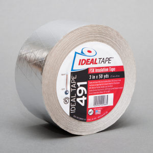 Ideal Tape 491 FSK HVAC Insulation Tape