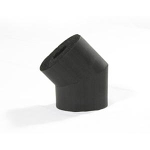 45 Degree insulating rubber elbow