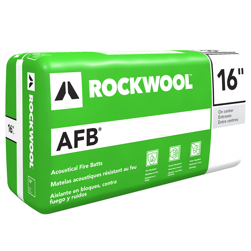 Lana de roca afb afb evo semi r gidos batt aislamiento for Mineral wool insulation health and safety