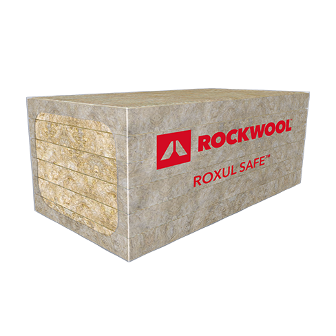 Rockwool roxul safe 45 residential party wall insulation gic for Steel wool insulation