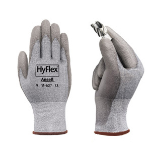 Hyflex Cut and abrasion resistant gloves