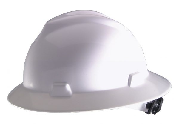 Safety hard hat used in construction industry by contractors