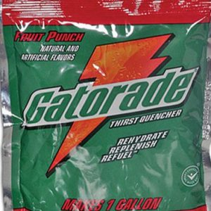 Gatorade powder pack for reconstitution