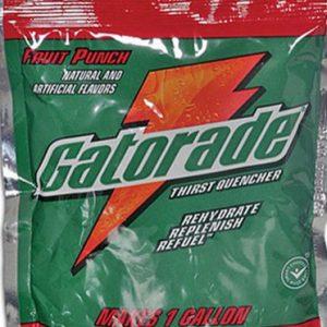 Gatorade powder pack for reconstitution