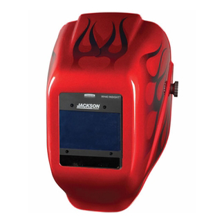 Jackson Red Welding Helmet