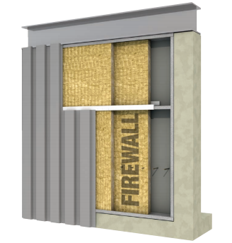 Roxul Firewall Insulation Board General Insulation