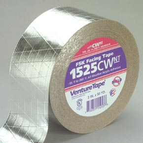 Venture tape 1525CW cold weather FSK insulation tape