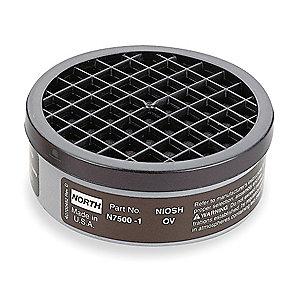 North N7500-1 Organic Vapor Filter Cartridge (Black)