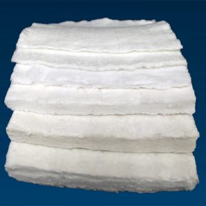 High temperature temporary fiberglass mats