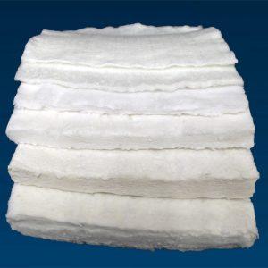 High temperature temporary fiberglass mats
