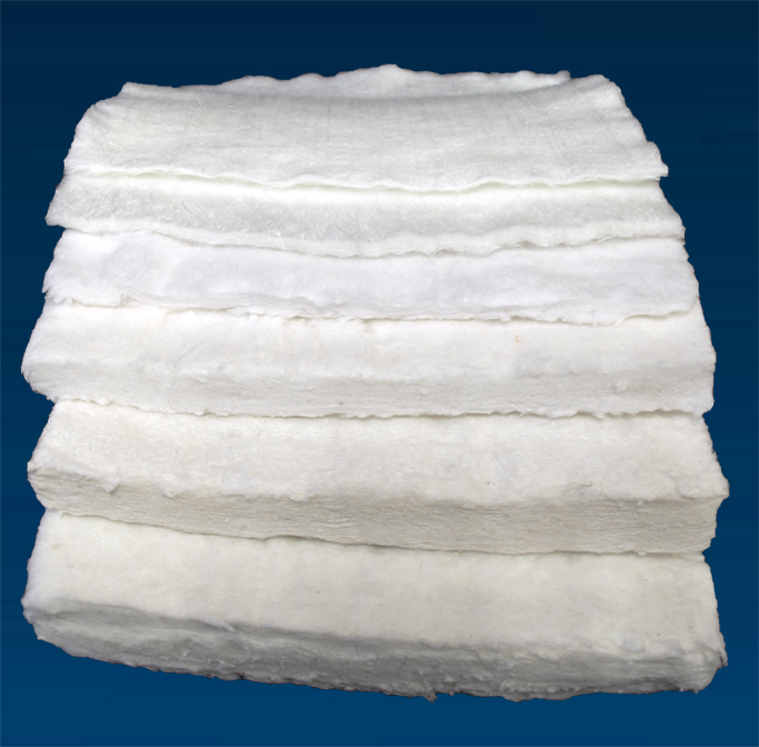High temperature felts blankets general insulation for Glass fiber blanket insulation