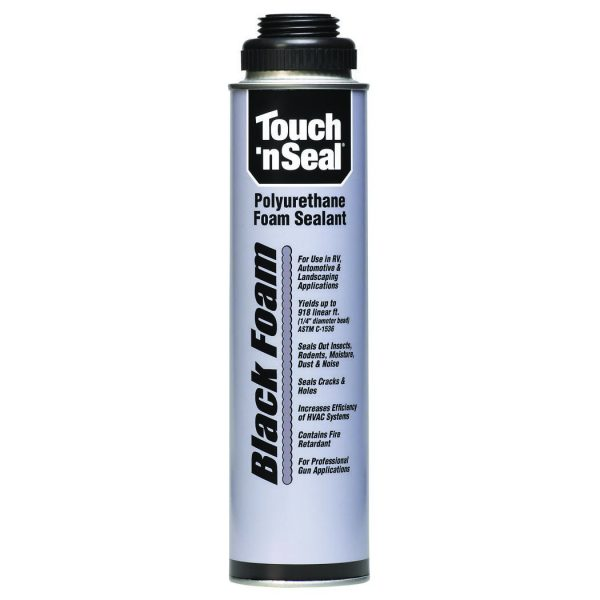 Touch N Seal Black Foam Polyurethane Foam Sealant Gic