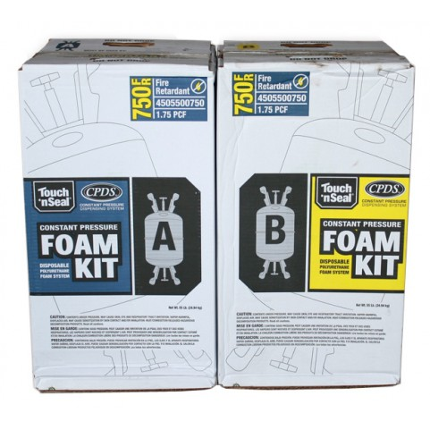 Touch 'n Seal CP-750 2 Component Foam Kit