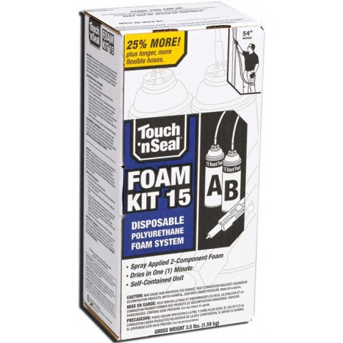 Touch N Seal U2 15 Two Component Spray Foam Insulation Kit