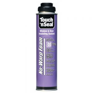 Touch 'n Seal No Warp Door and Window Foam Insulation