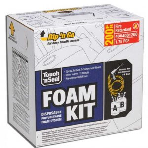 Touch 'n Seal U2-200 Fire Retardant Spray Foam Kit