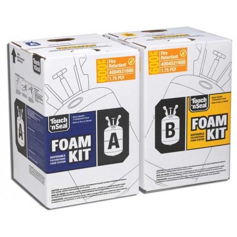 seal u2 600 fire retardant two component polyurethane spray foam kit. Black Bedroom Furniture Sets. Home Design Ideas