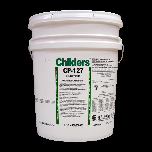 Childers CP-127 Chil-Quik Water-Based HVAC Adhesive 5 Gal Bucket