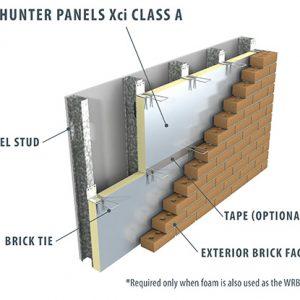 ClassA-XCi-polyisocyanurate-wall-insulation-panel