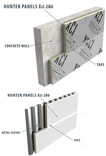 Hunter Xci 286 Wall Panel General Insulation