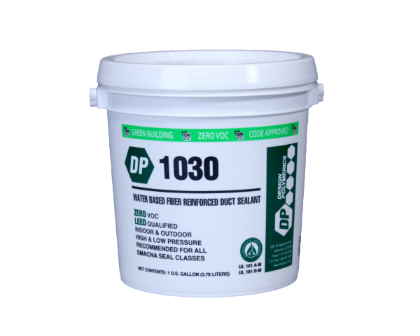 Design Polymerics DP 1030 Fiber Reinforced Water-Based Duct Sealant 1 Gallon Container