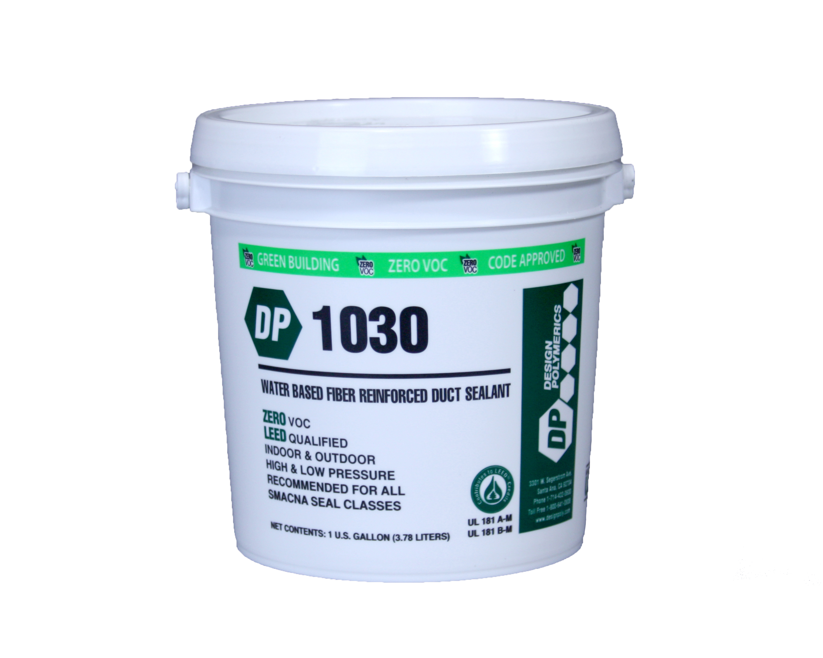DP 1030 Fiber Reinforced Water Based Duct Sealant | GIC