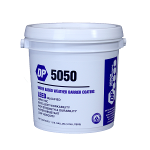 Design Polymerics DP 5050 Weather Barrier Breather Mastic 1 Gallon Container