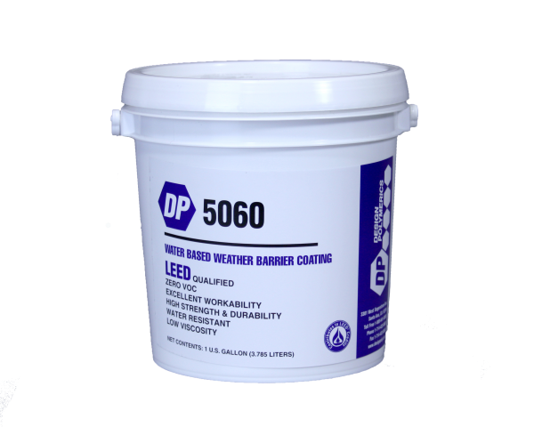 Design Polymerics DP 5060 Weather Barrier Brather Mastic 1 Gallon Container