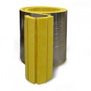 GLT fiberglass pipe and tank insulation