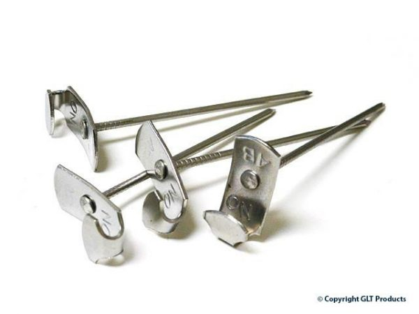 GLT lacing hooks - stainless steel rectangular base