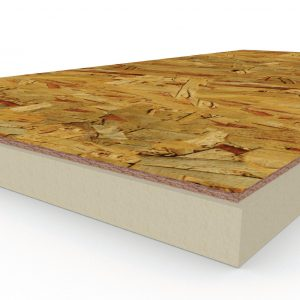 H-Shield NB polyiso bonded to OSB