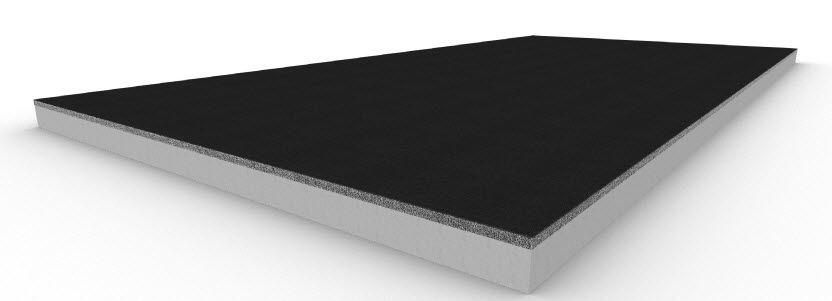 Roof fiberboard high density