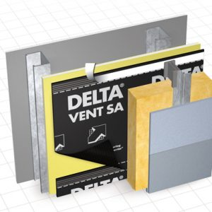 Delta Vent SA Self-adhering Water Resistive Barrier Membrane