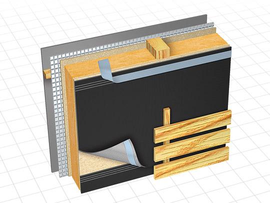 delta fassade s uv resistant barrier membrane gic