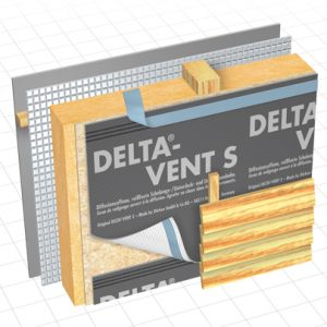 Delta-Vent S Water Resistive Barrier