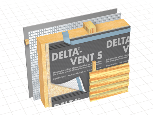 delta vent s water resistive barrier membrane gic. Black Bedroom Furniture Sets. Home Design Ideas