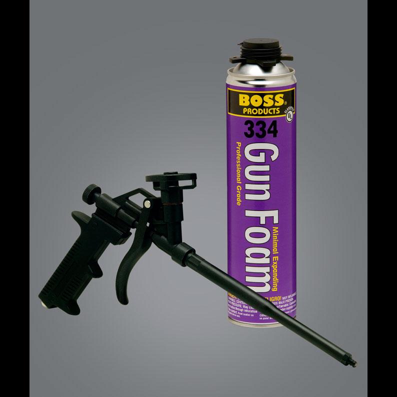Boss 334 Window & Door Minimal Expanding Gun Foam - GIC