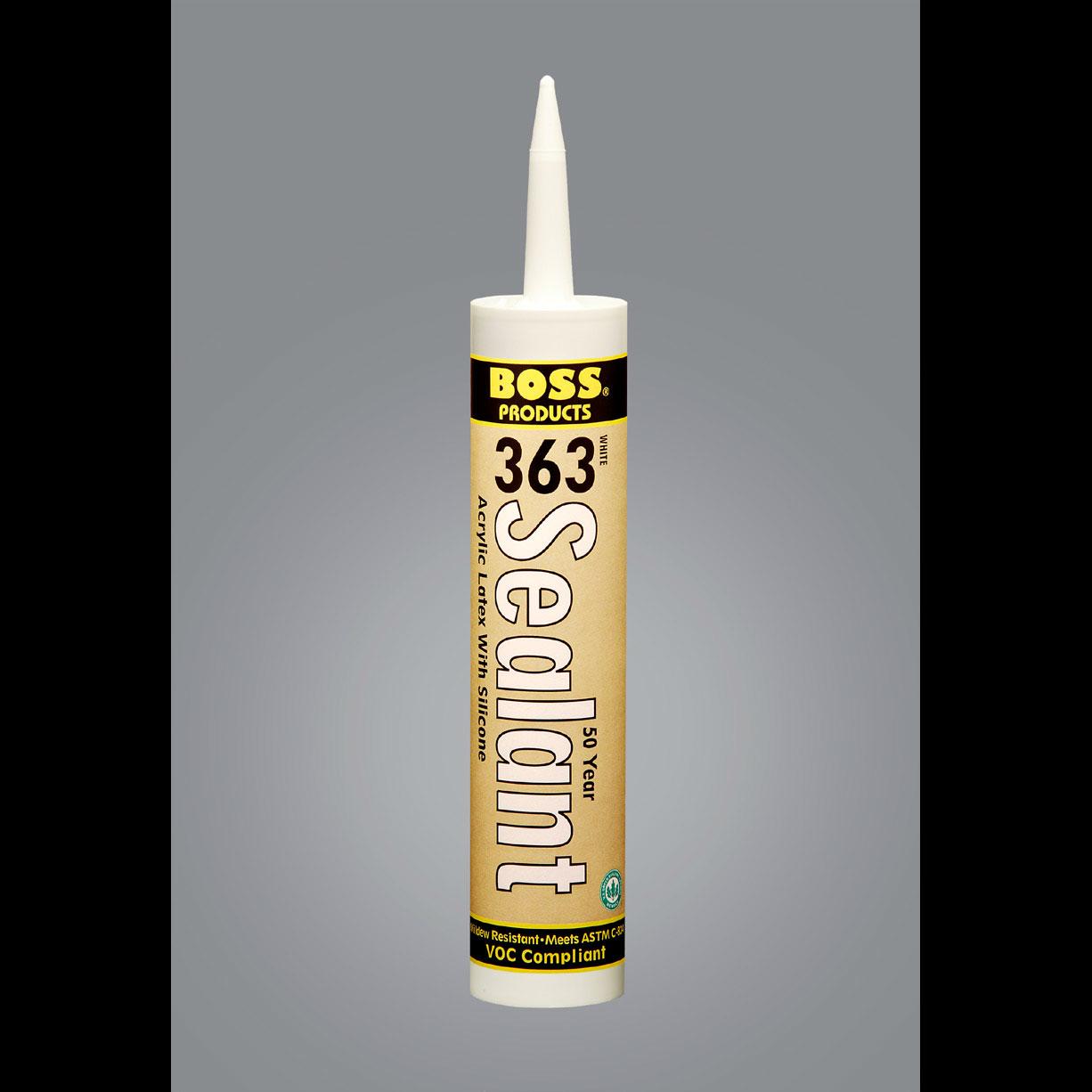 Boss 363 50 Year Silicone Caulk General Insulation
