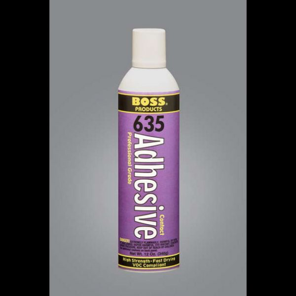 Boss 635 Contact Spray Adhesive General Insulation